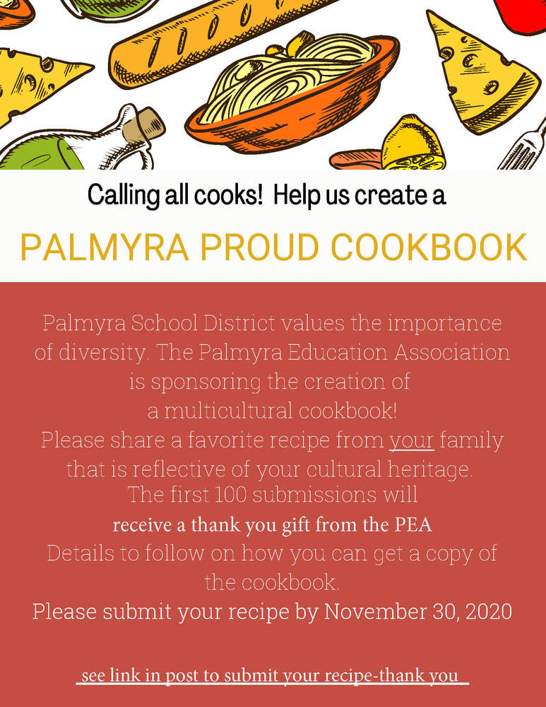 Palmyra Proud Cookbook