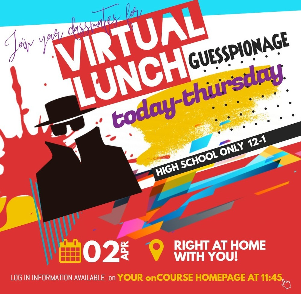Let's do VIRTUAL LUNCH