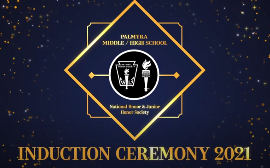 Palmyra Middle & High School's Honor Societies Induction 2021
