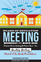 March Meeting of the Board of Education