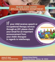 Important Message for Special Education Families