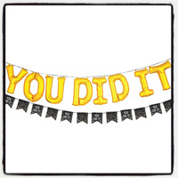 From the desk of Dr. McBride: YoU DiD iT!!!
