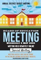 District BoE Budget Meeting