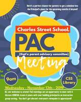 Parent Advisory Committee (PAC) Meeting