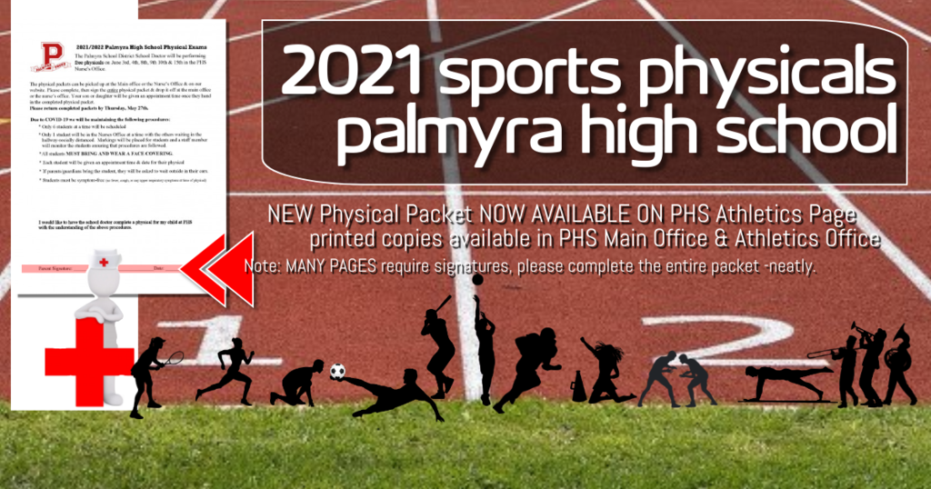 ANNOUNCEMENT: phs ATHLETICS PHYSICAL FORMS AVAILABLE